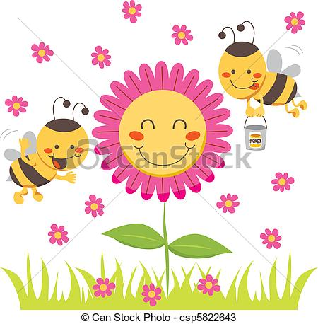 Honey bees Clip Art and Stock Illustrations. 11,655 Honey bees EPS.
