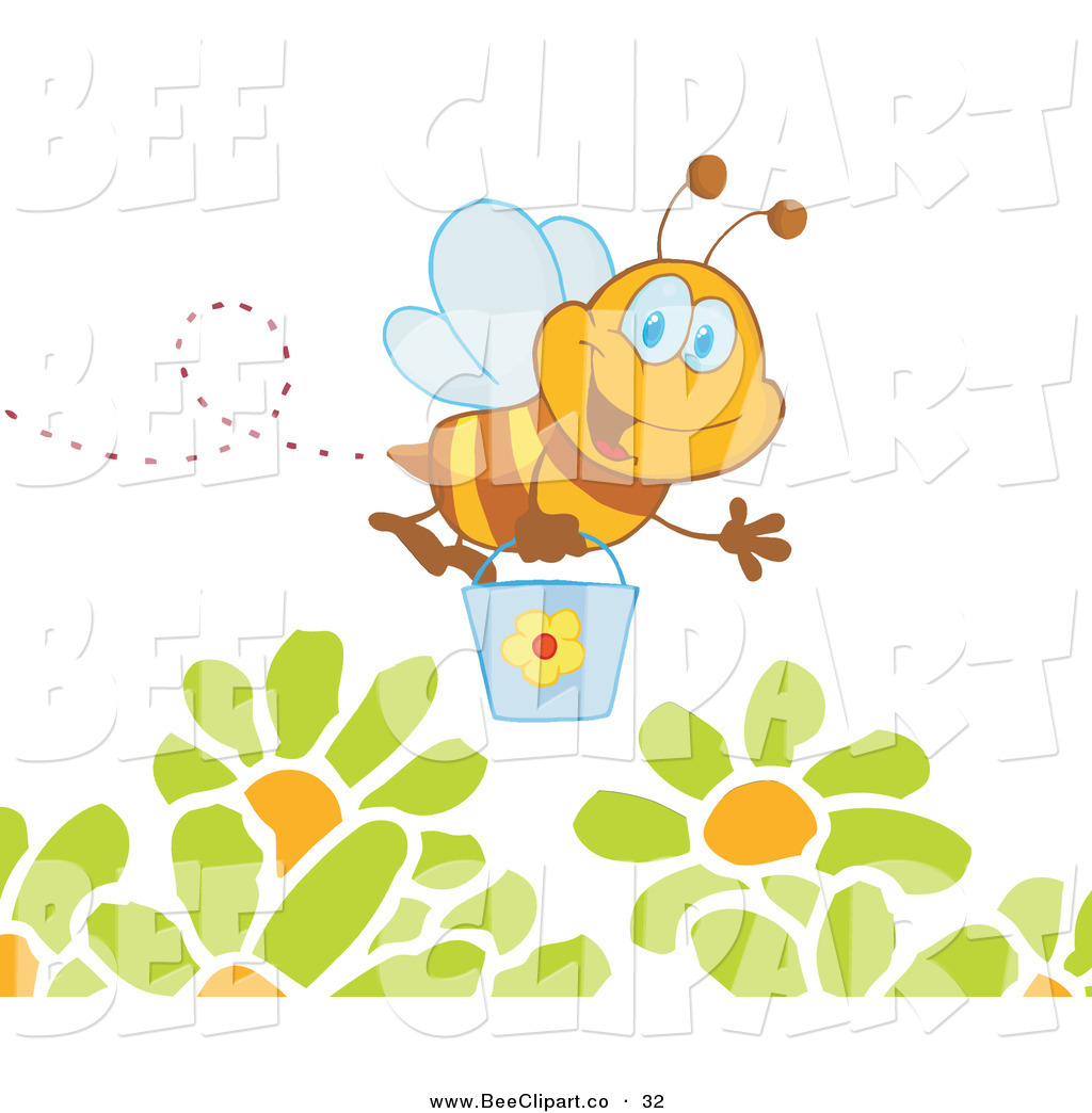 Best Flowers For Bees Clipart.