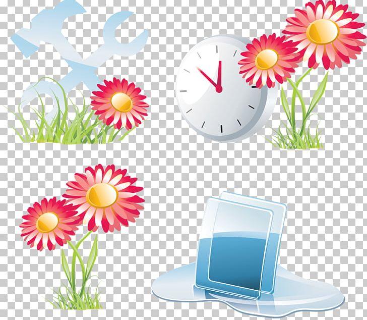 Floral Design Flower Icon PNG, Clipart, Chrysanthemum, Clock.