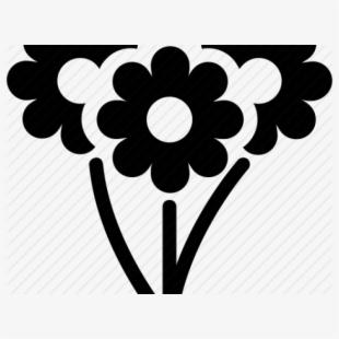 Bouquet Clipart Flower Icon.