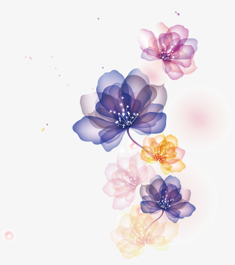 Flowers Illustration Png.