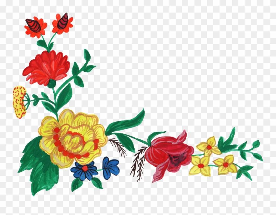 Floral Clipart File.