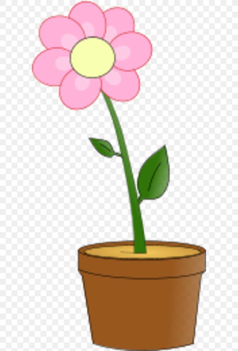 Flowerpot Pink Flowers Clip Art, PNG, 600x1209px, Flowerpot.
