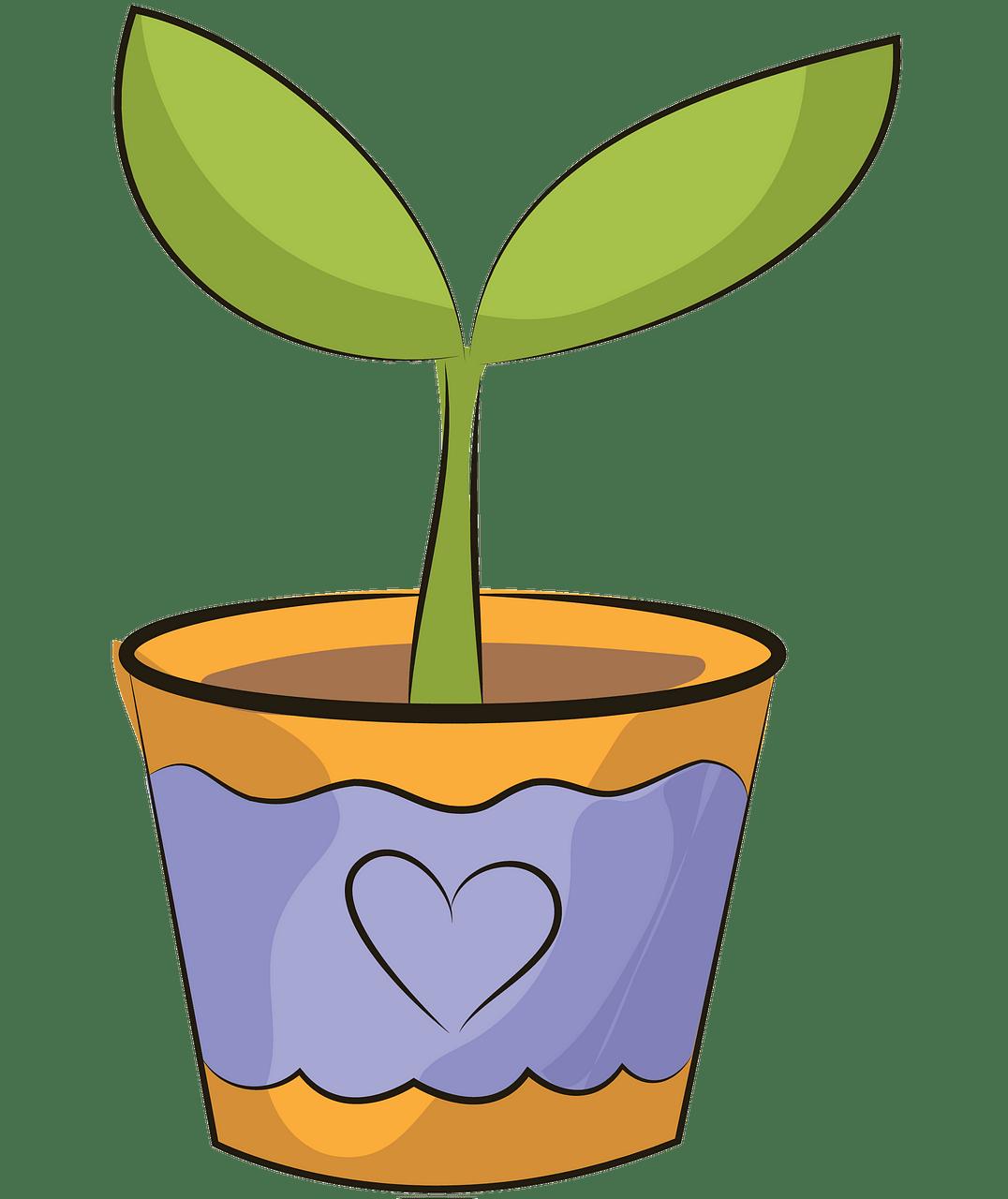 Flower pot clipart. Free download..