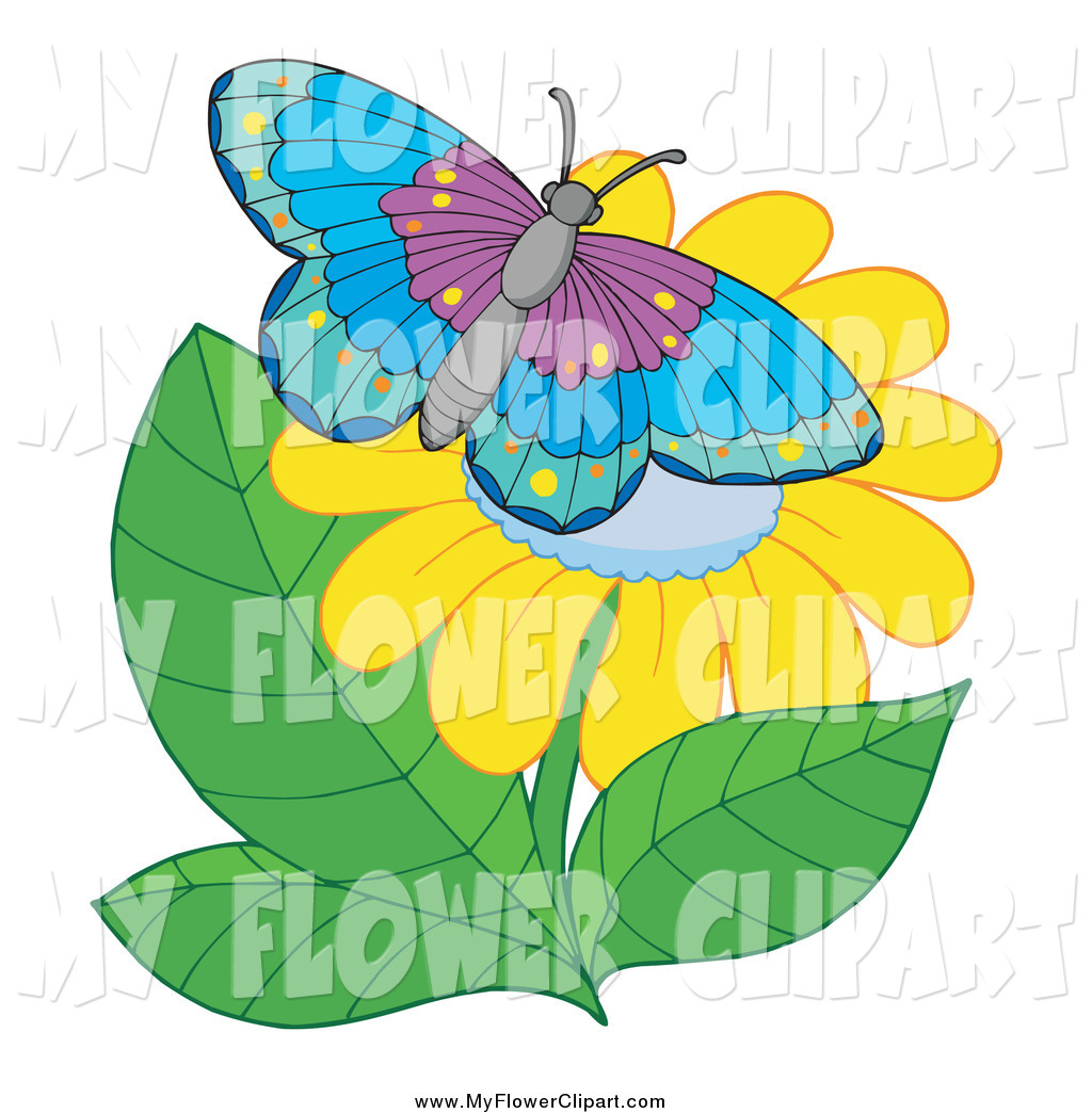 Royalty Free Insect Stock Flower Designs.