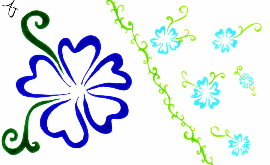Flower island clipart - Clipground