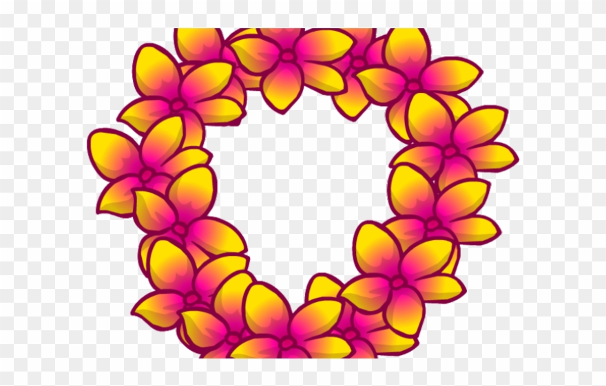 Hawaii Clipart Leis.