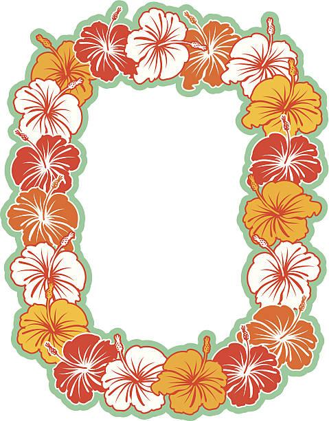 Best Hawaiian Lei Illustrations, Royalty.