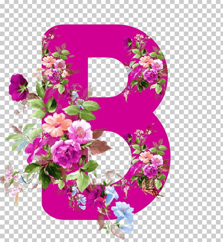 Floral Design Flower Alphabet Pink Letter PNG, Clipart.