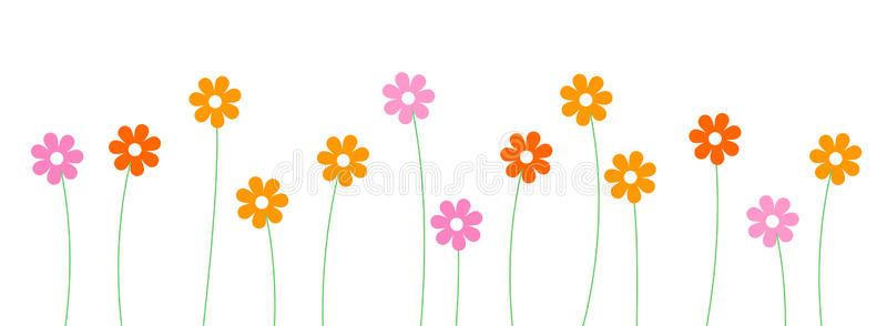 Flower clip art line.