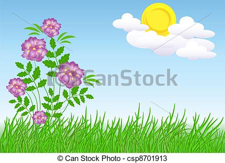Meadow flowers Illustrations and Clip Art. 22,404 Meadow flowers.