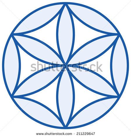 Flower Of Life Symbol Stock Photos, Royalty.