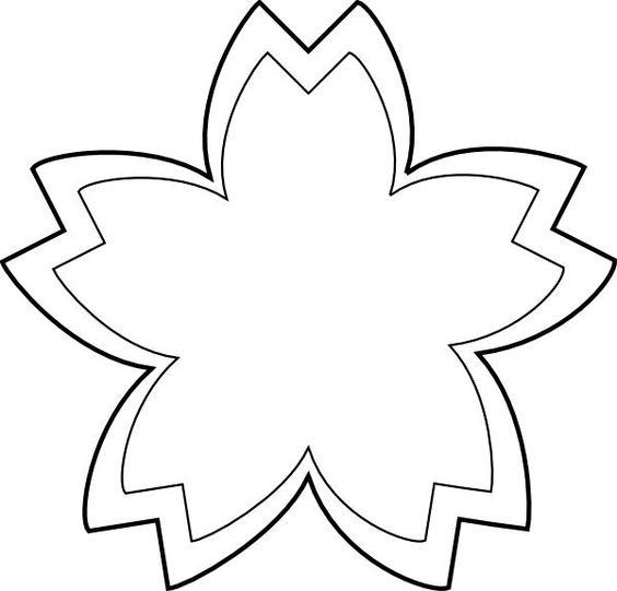 Flower black and white flower outline clipart black and white.