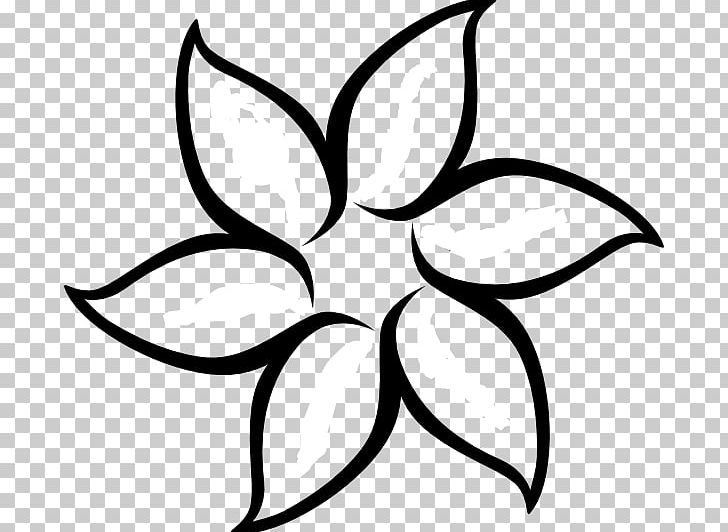 Flower Outline Drawing PNG, Clipart, Black And White, Black And.