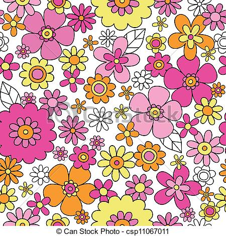Clipart Pattern Flower.