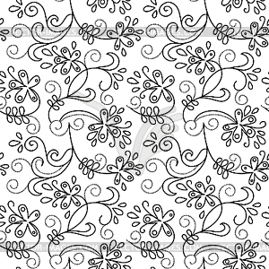 Floral Pattern Clipart.
