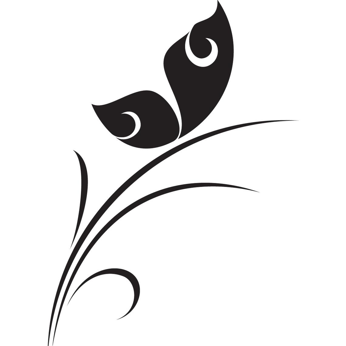Flower Pattern Clip Art.