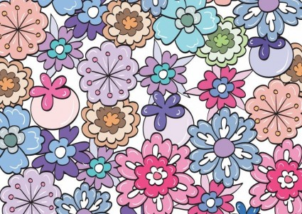 Floral Pattern Clip Art.