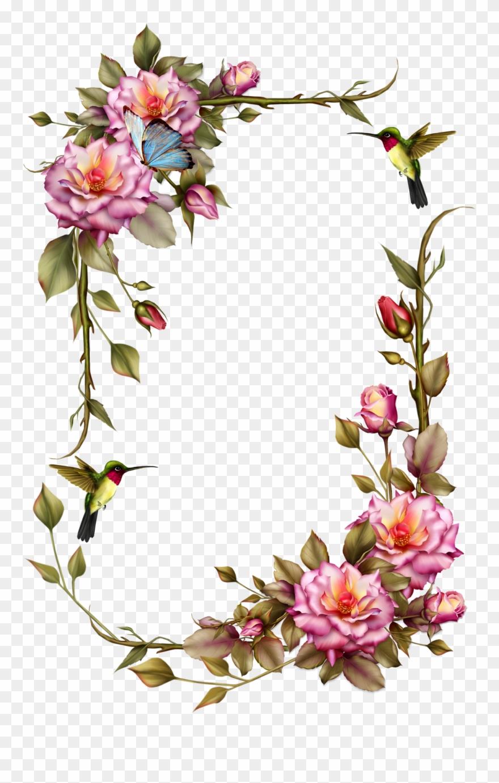 Flower Frame Clipart (#848539).