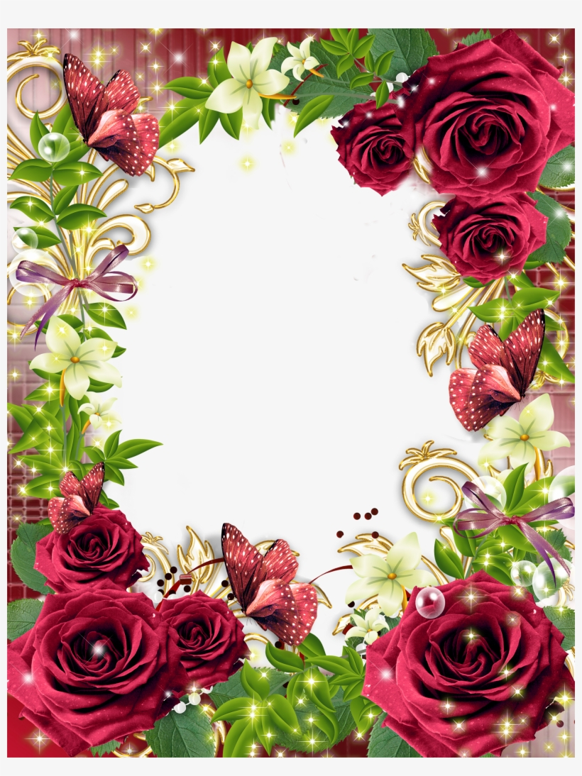 Ramen, Flower Frame, Frame With Flowers, Png Photo,.