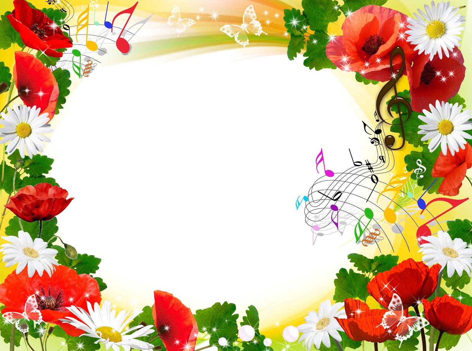 Flower Frame PNG Transparent Images, Pictures, Photos.