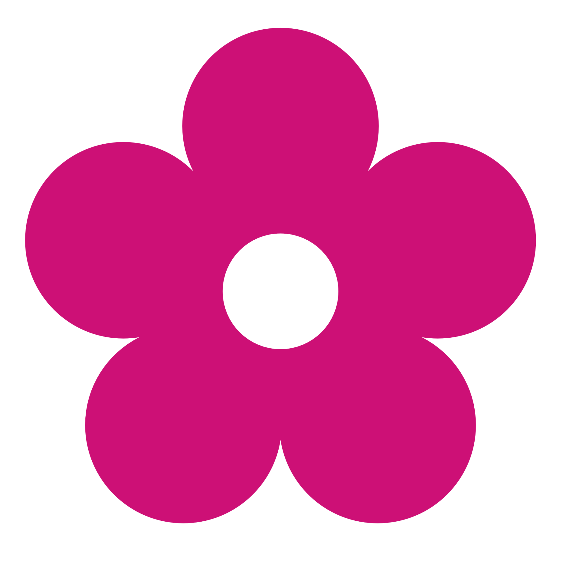 Flower clipart pink.