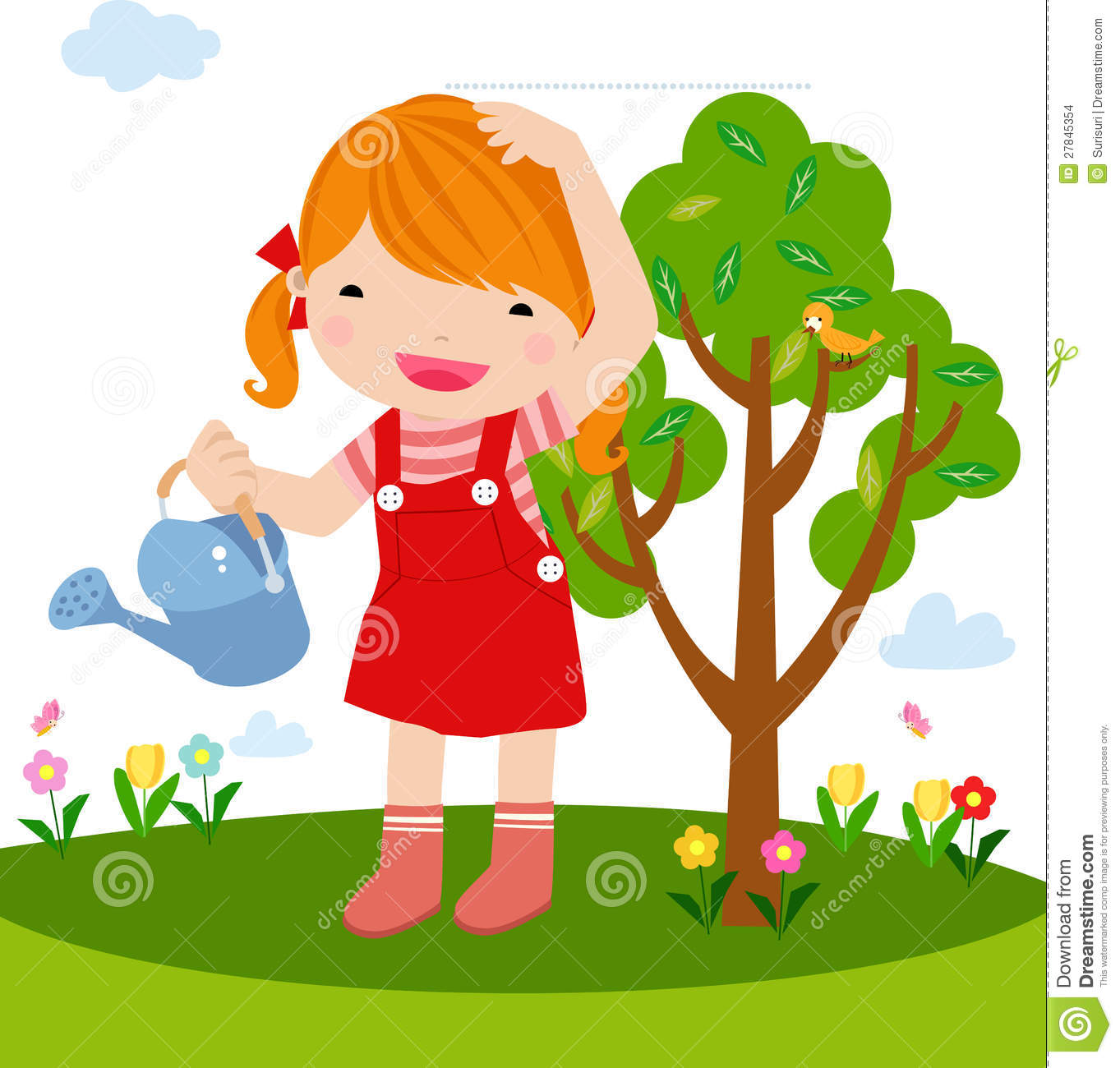 Clipart plant a tree.