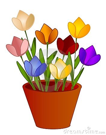 Flower Pot Clip Art Cartoon Stock Photos, Images, & Pictures.