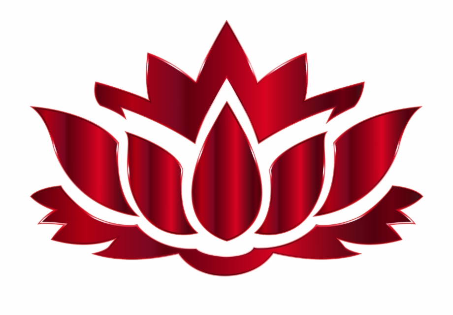 Red Lotus Flower Lotus Flower Logo Png.