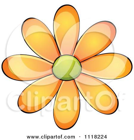 Orange Daisy Flower Posters, Art Prints by colematt.