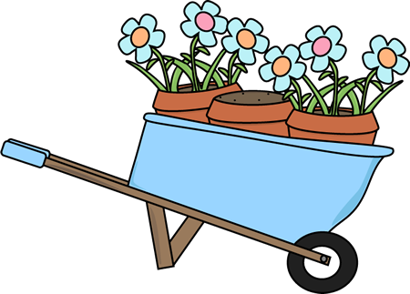 Fall Flower Pot Clipart.