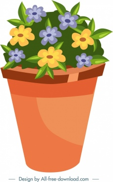 Flower pot clipart free vector download (13,924 Free vector) for.