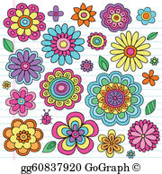 Flower Power Clip Art.