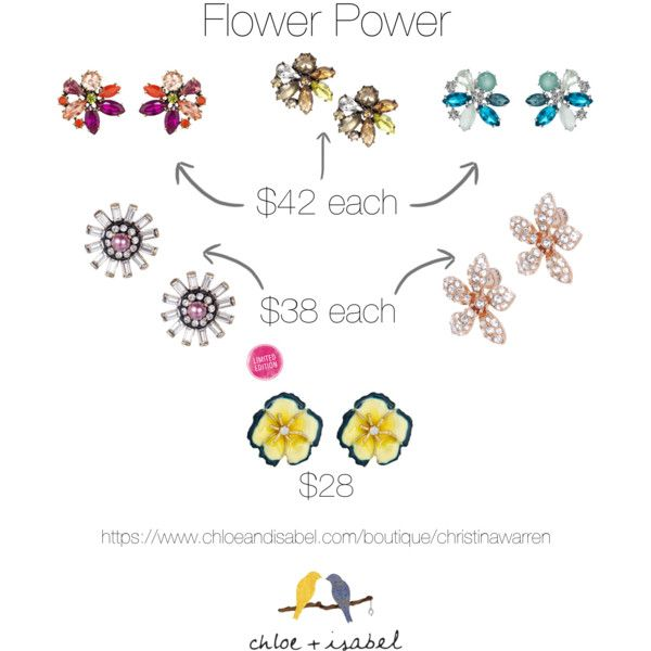 Christina Martina: Style Time with Chloe + Isabel: Flower Power.