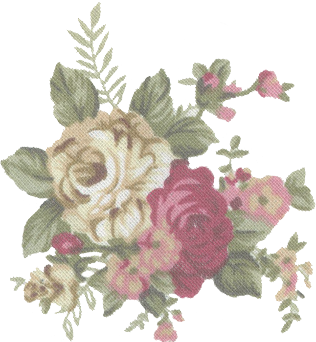 HD Tumblr Static Vintage Flower Print Stock By Candy Lace.