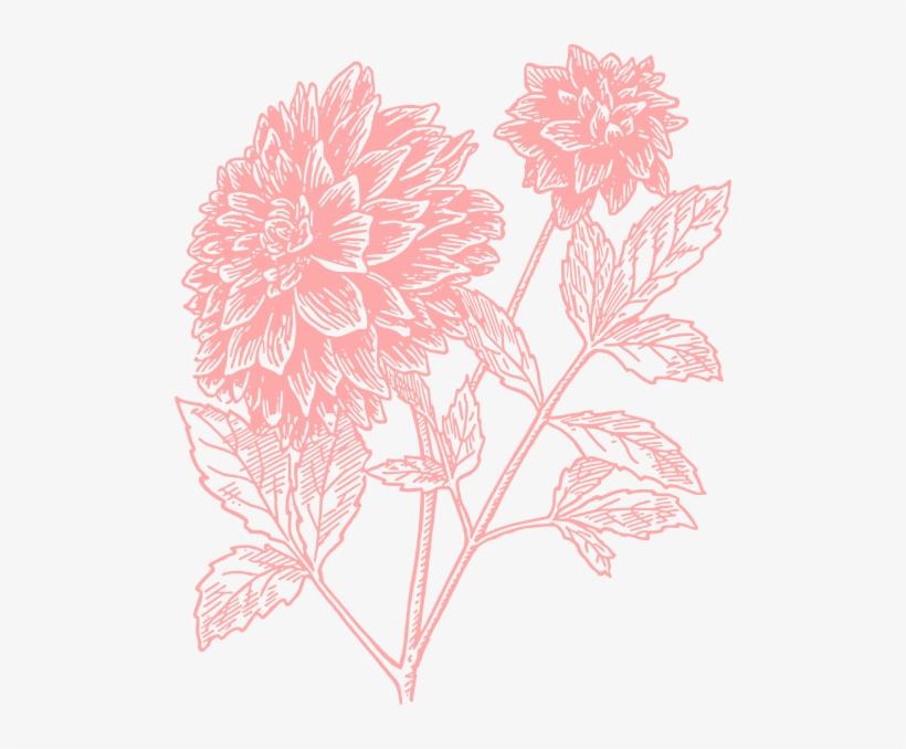 Light Flower Print Clip.