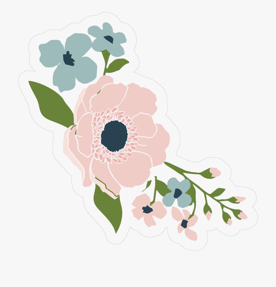 Wedding Flowers Print & Cut File.
