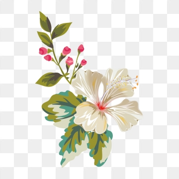Flower Print PNG Images.