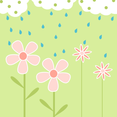 Rain Clip Art.
