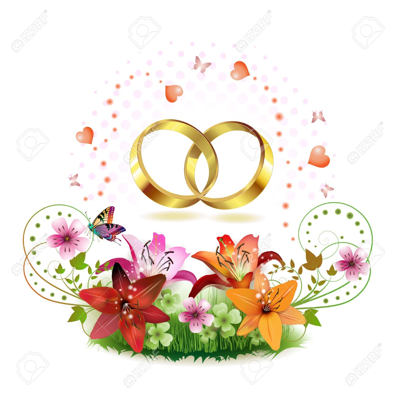 flower rings clipart 20 free cliparts  download images on