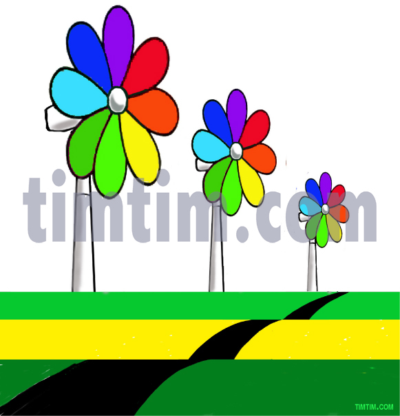Free drawing of Flower Power from the category.
