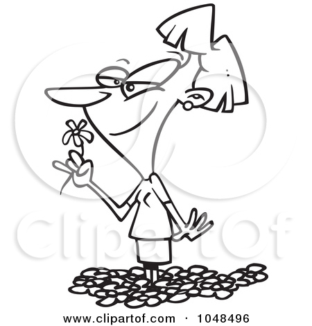Royalty Free Stock Illustrations of Flowers by Ron Leishman Page 1.