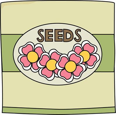 Flower Seed Clipart.