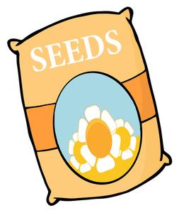 Flower Seeds Clip Art.