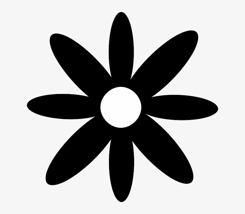 Daisy Silhouette Clip Art At Getdrawings.