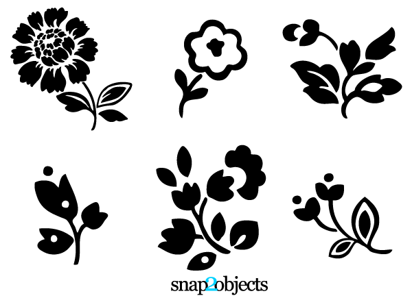 Free Flower Silhouette Vector, Download Free Clip Art, Free.