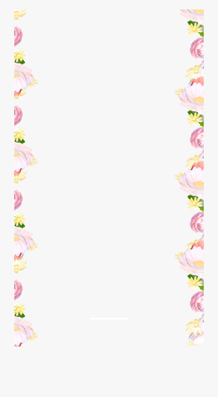 Flower Border Snapchat Filter #2156446.