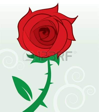 2,195 Rose Thorns Stock Vector Illustration And Royalty Free Rose.