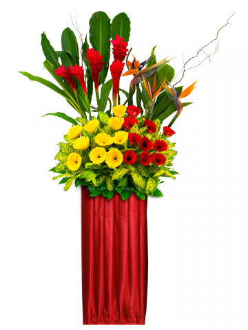 Flower Stand Png Vector, Clipart, PSD.