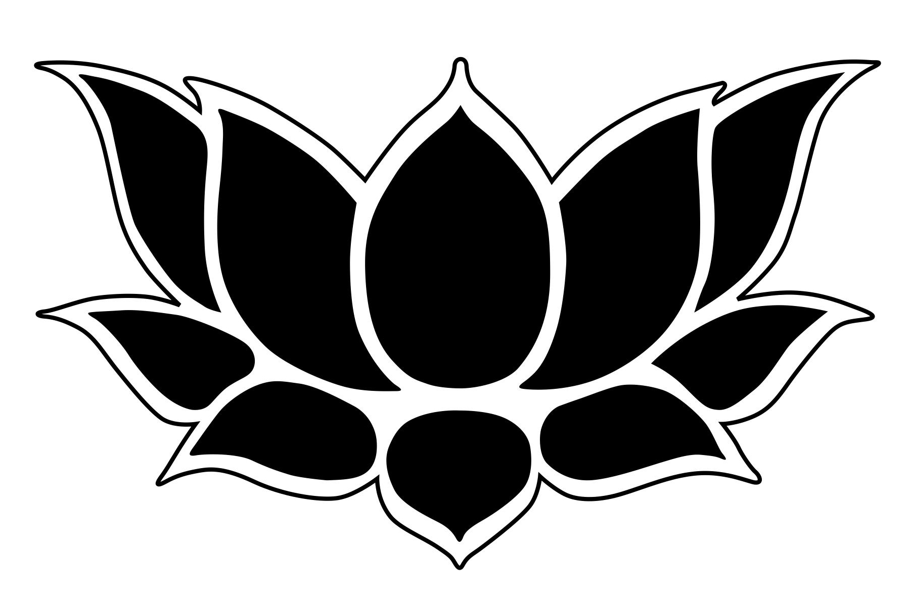 Free Flower Stencil Outline, Download Free Clip Art, Free.